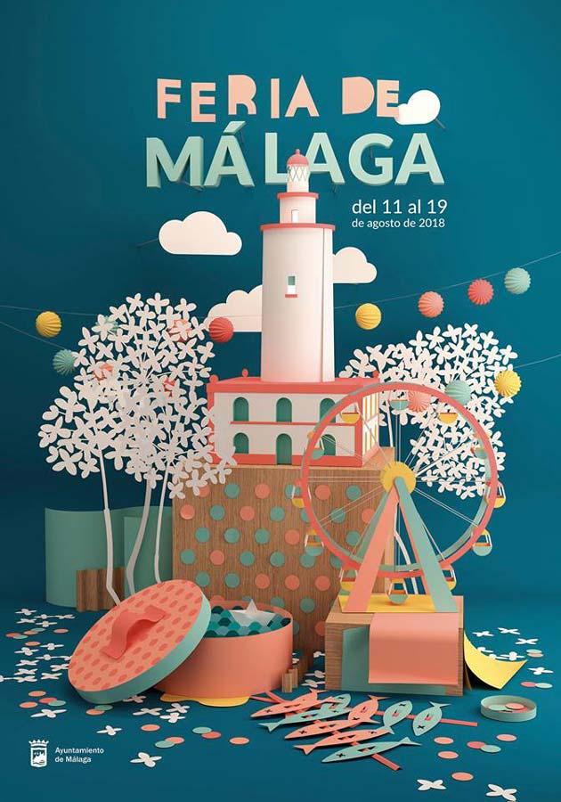 Cartel de la Feria de Málaga 2018