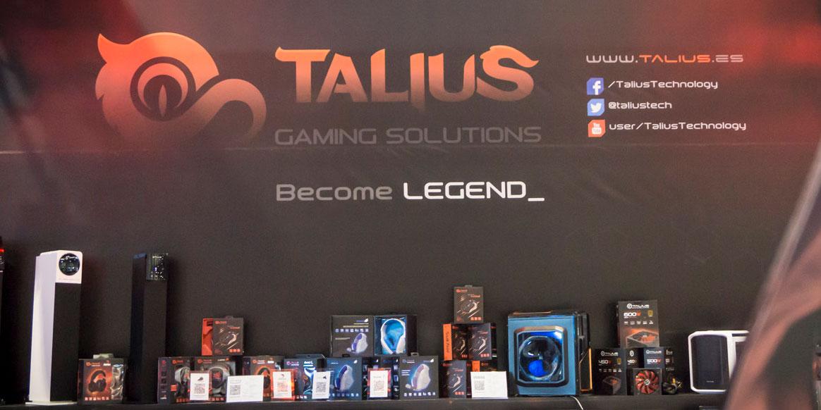 Stand de Talius en Gamepolis 2016