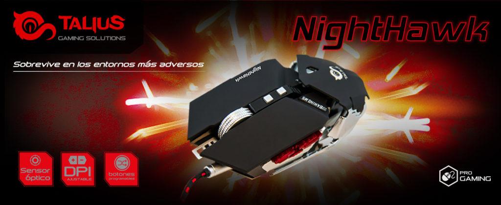 Ratón Talius Nighthawk